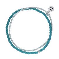 Bracelet Féerie Turquoise 2 Rangs