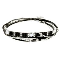 Bracelet Sweety Noir Tissage Noir