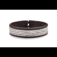 Bracelet Line marron