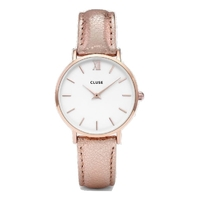 Minuit, Rose Gold Metallic, Rose Gold/White