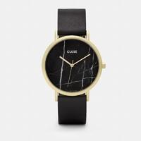 La Roche, Gold Black Marble, Black