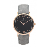 Campus Rose Gold Black Grey Vintage Leather