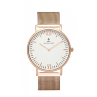 Campus Mesh Rose Gold White