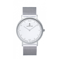 Campus Mesh Silver White