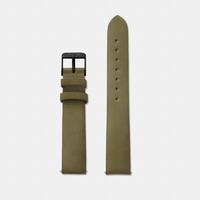 Bracelet Cuir Olive Green Minuit Black