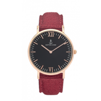 Campus Rose Gold Black Bordeaux Canvas