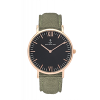 Campus Rose Gold Black Olive Canvas