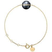 Bracelet Honoré Or Jaune Hematite