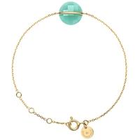Bracelet Honoré Or Jaune Amazonite