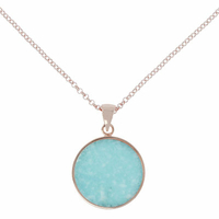 Collier Disc Alba Amazonite