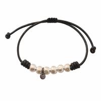 Bracelet Perles XL Argentées
