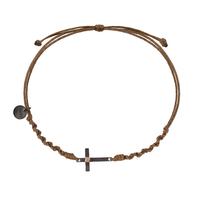 Bracelet Croix Cordon