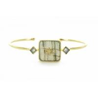 Bracelet Meruba Labradorite Plaqué Or