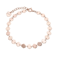 Bracelet Cluse Essentielle Rose Gold all Hexagons Chain