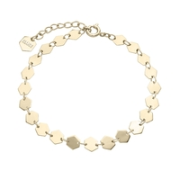 Bracelet Cluse Essentielle Gold all Hexagons Chain