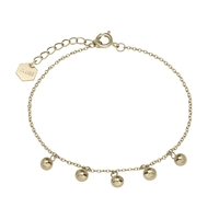 Bracelet Cluse Essentielle Gold Orbs Chain