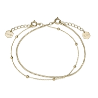 Bracelet Cluse Essentielle Gold Set of Two Fine Chain