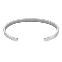 Bracelet Cluse Idylle Silver Marble Open Cuff