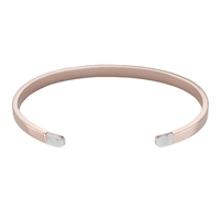 Bracelet Cluse Idylle Rose Gold Marble Open Cuff