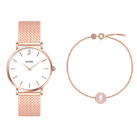 Minuit Heart Gift Box Rose Gold