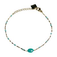 Bracelet Gigi Couleurs - Bleu Clair