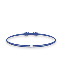 Bracelet Twist Diamand Bleu Marine