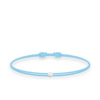 Bracelet Twist Diamant Bleu Ciel