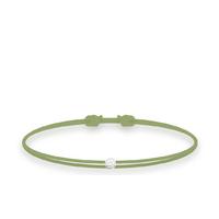 Bracelet Twist Diamant Vert