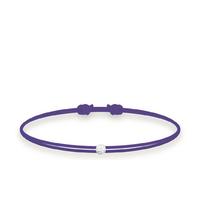 Bracelet Twist Diamant Violet