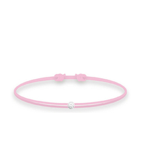Bracelet Twist Diamant Rose