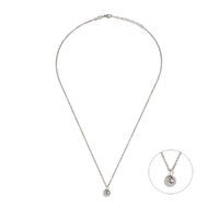 Collier Glint & Coin Argent