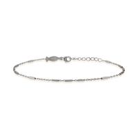Bracelet Chaine Barre Argent