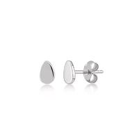 Boucles d'Oreilles Mini Drop Argent