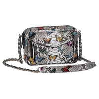 Sac Python Charly Papillon Diamond Argent