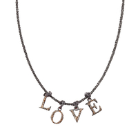 Collier Love Noir