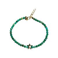 Bracelet Perles Etoile de Mer Turquoise