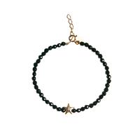 Bracelet Perles Etoile de Mer Noir