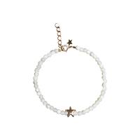 Bracelet Perles Etoile de Mer Blanc