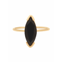 Bague Gaby Onyx Or Grand Modèle