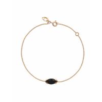 Bracelet Gaby Onyx Or