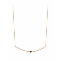 Collier Babylone Onyx Or