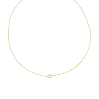 Collier Iris Signature Or