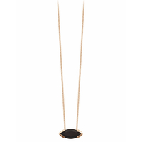 Collier Gaby Onyx Or