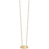 Collier Gaby Quartz Rutile Or