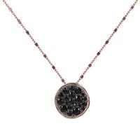 Collier Altissima Stones Noir
