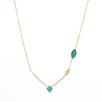 Collier Shayan Turquoise