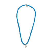 Collier Bleu Dent de Requin