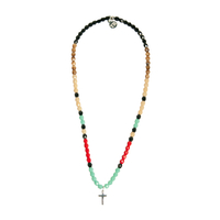 Collier Multicolore Croix