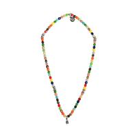 Collier Multicolore Indien Tête de Mort