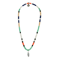 Collier Multicolore Plume